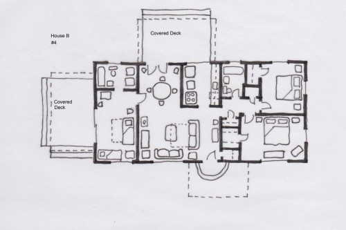 Home B floor plan